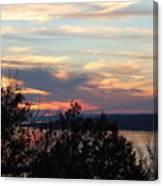 Lakefront Sunset Canvas Print