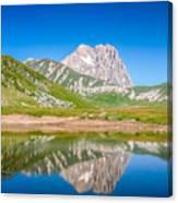 Lakes And Peaks Canvas Print