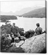 Lakes Of Killarney - Ireland - C 1896 Canvas Print