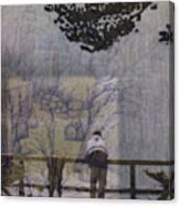 Lakeside Fog- Colorado Canvas Print