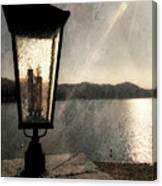 Lakeside Lantern Canvas Print