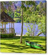 Lakeside Relaxation Canvas Print