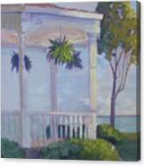 Lakeside Solitude Canvas Print