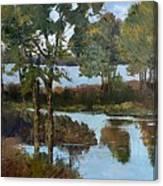 Lakeside Symphony Canvas Print