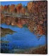 Lakeside17 Canvas Print