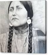 Lakota Woman Canvas Print
