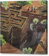 Lalibela Church Canvas Print