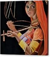 Lambani Girl Canvas Print
