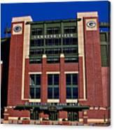 Lambeau Field Green Bay Packers Canvas Print