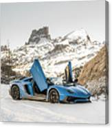Lamborghini Aventador Sv Canvas Print