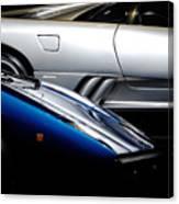 Lamborghini Countach And Lamborghini Diablo Canvas Print