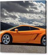 Lamborghini Exotic Car Canvas Print