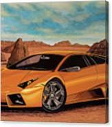 Lamborghini Reventon 2007 Painting Canvas Print