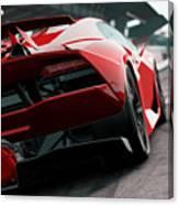 Lamborghini Sesto Elemento Rear View Poster By Andrea Mazzocchetti