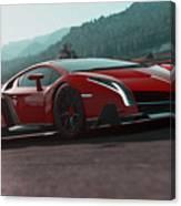 Lamborghini Veneno Canvas Print