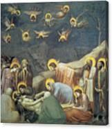 Lamentation Of Christ Canvas Print