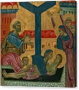 Lamentation Of The Dead Christ Canvas Print