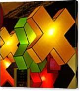 Lamp Display Canvas Print
