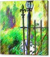 Lamppost Canvas Print