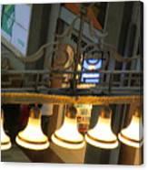 Lamps At The Big C Canvas Print