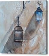 Lamps Canvas Print