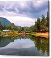 Lampuuk Lake Canvas Print