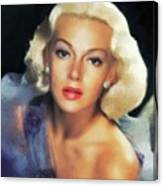Lana Turner, Hollywood Legend Canvas Print