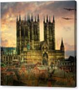 Lancaster Bombers Tour Canvas Print
