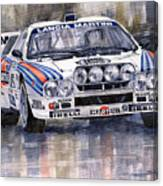 Lancia 037 Martini Rally 1983 Canvas Print