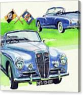 Lancia Aurelia B50 Canvas Print