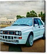 Lancia Delta Hf Integrale Evoluzione Canvas Print