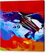 Lancia Stratos Watercolor 2 Canvas Print