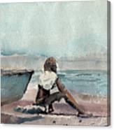 Land Far Away Canvas Print