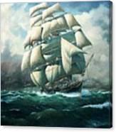 'land Ho' Cutty Sark Canvas Print