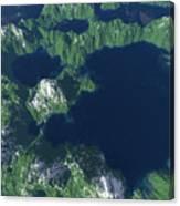 Land Of A Thousand Lakes Canvas Print