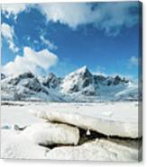 Land Of Ice And Snow Canvas Print
