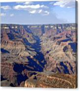 Land Of Many Canyons Canvas Print