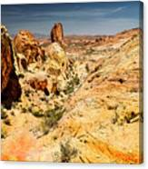 Land Of Sandstones Valley Of Fire Canvas Print