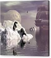 Land Of The Midnight Sun 1 Canvas Print