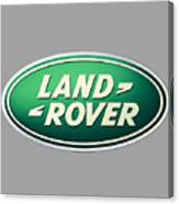 Land Rover Emblem Canvas Print