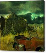 Land Rover Canvas Print