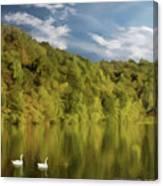 Landingville Lake Pennsylvania Canvas Print