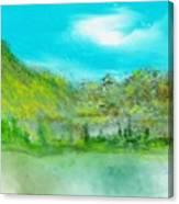 Landscape 101510 Canvas Print