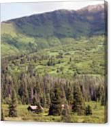 Landscape Alaska  Canvas Print