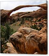Landscape Arch -- Arches National Park Canvas Print