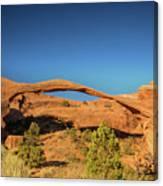Landscape Arch Sunrise Canvas Print