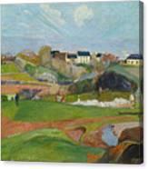 Landscape At Le Pouldu Canvas Print