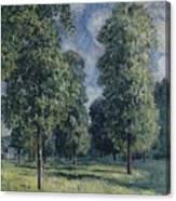 Landscape At Sevres Canvas Print
