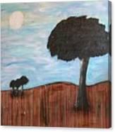 Landscape - Distant Cousins Canvas Print