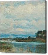 Landscape From The Surroundings Canvas Print